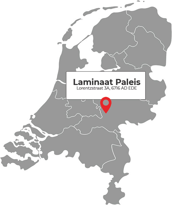 Laminaat Paleis showroom in Ede