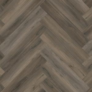 pvc visgraat Yup Herringbone Dryback Dark Grey