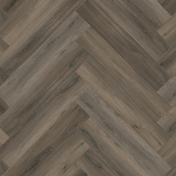 pvc visgraat Floor life Yup Herringbone Dryback Dark Grey