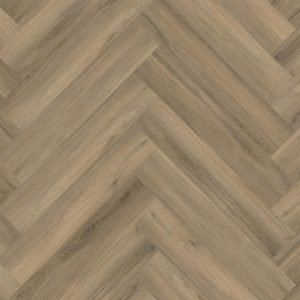 pvc visgraat Yup Herringbone Dryback Light Brown