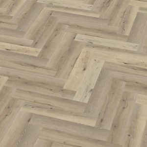 pvc visgraat Yup Herringbone Dryback Light Oak