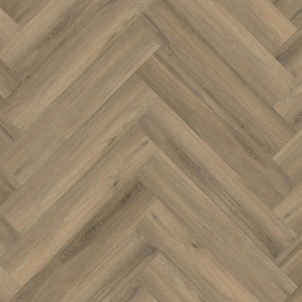 pvc visgraat Floor Life Yup Herringbone Click Light Brown