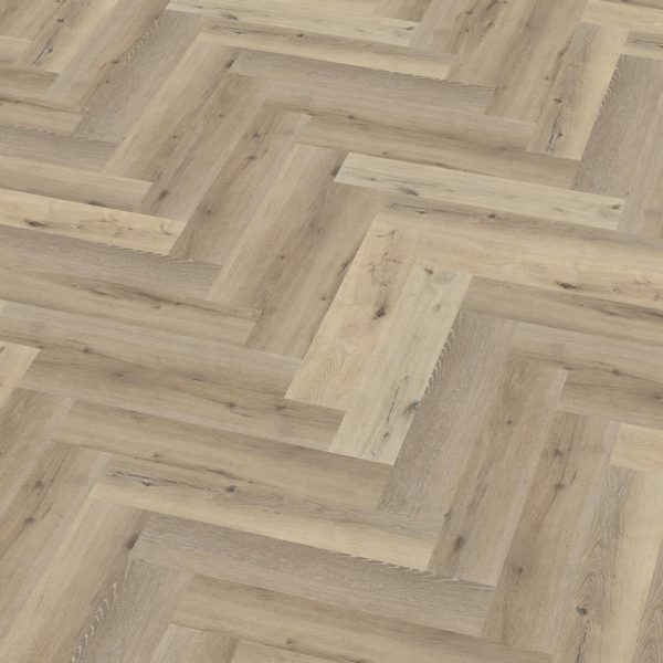 pvc visgraat Floor Life Yup Herringbone Click Light Oak