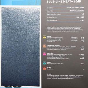 Blue line heat ondervloer