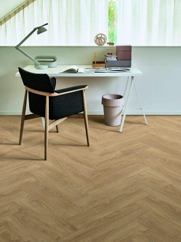 pvc visgraapvc visgraat vloer Moduelo Parquetry Laurel Oak 51329 Dryback